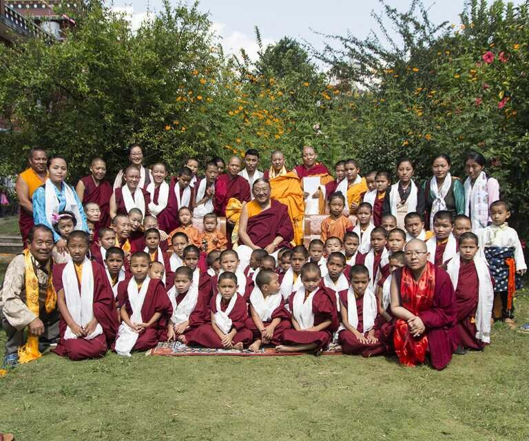 Nuns of Vajrayogini Meditation Centre